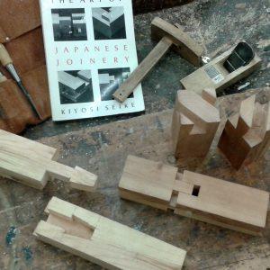 Japanse houtverbindingen