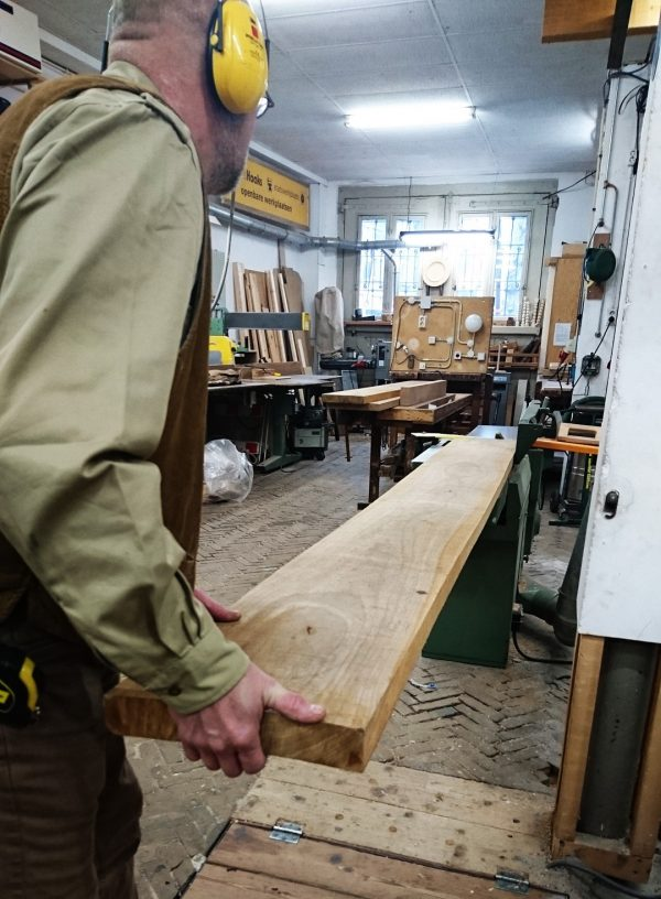 Woodworking with machines